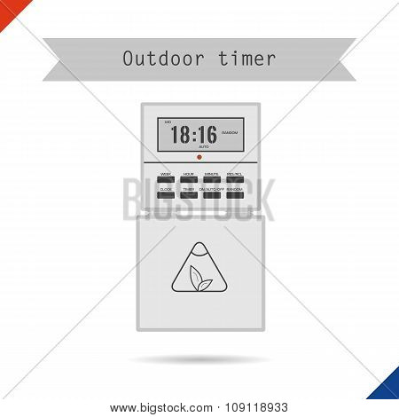 Outdoor timer for phyto light