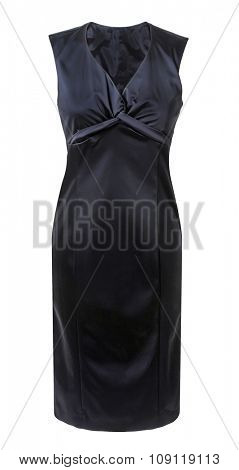 black dress isolated on white
