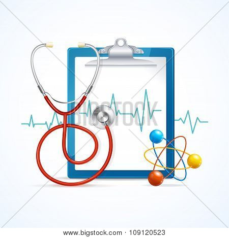 Health Medical Concept. Vector