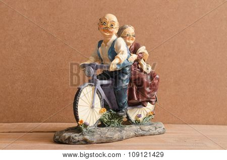 Antique Toy Bike.