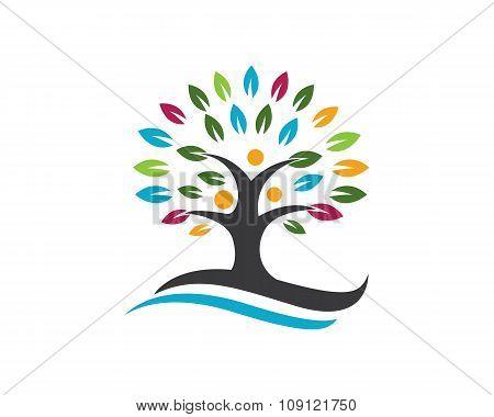 Eco Tree Logo Template