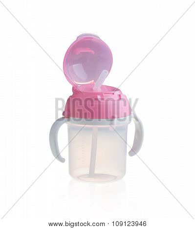 Baby Bottle, Cup With Handles