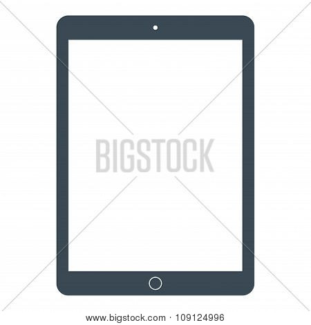 Tablet Icon On The White Background. Stock Vector Illustration Eps10
