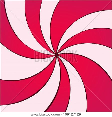 Vector Twirled Background