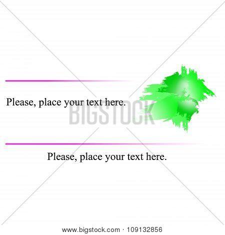 Business Card Green.