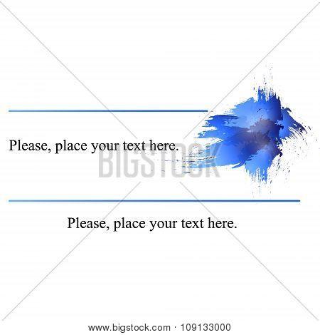 Business Card Blue.