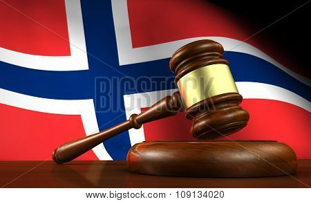 Norway Law Legal System Concept