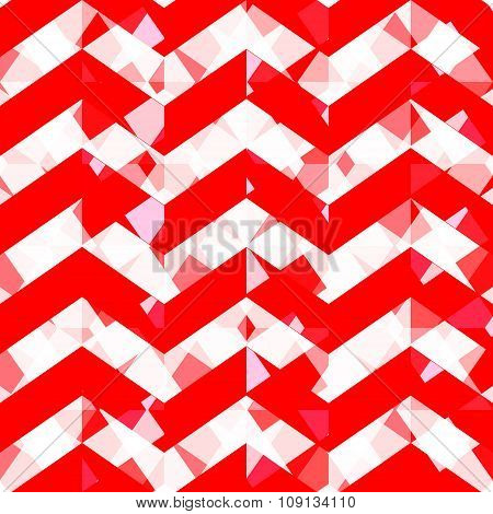 Geometric Pattern, Triangles Background. Eps10 Vector Illustration