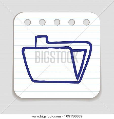 Doodle Folder icon.