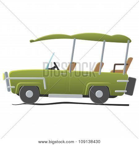 Electra golf car