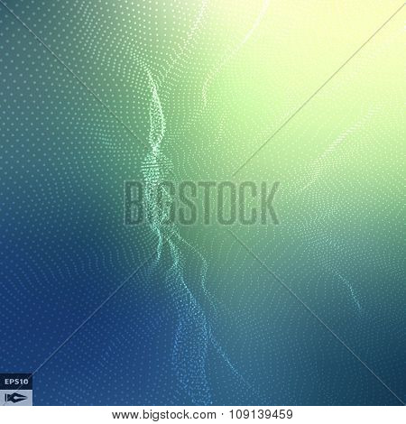 Abstract Background. Vector Illustration. Design Template. Perspective Grid Background.
