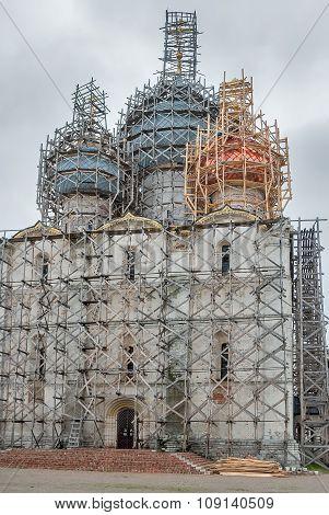 Restoration of Assumption Cathedral in Rostov