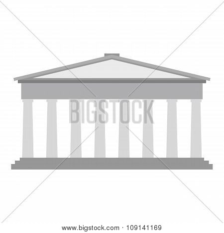 Roman pantheon flat