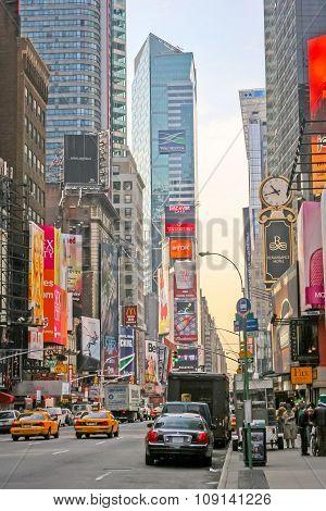 Times Square Bilboards