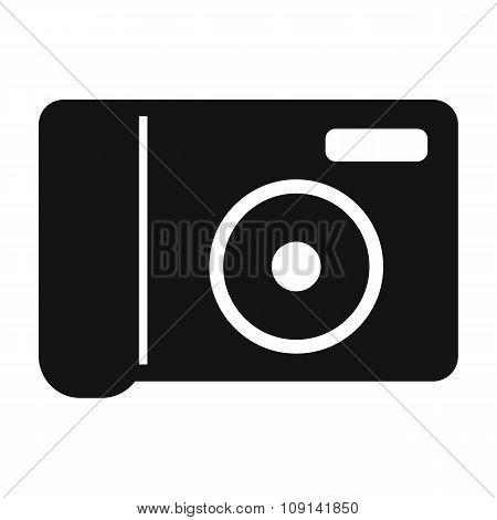 Portable camera simple icon
