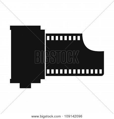 Camera film roll icon