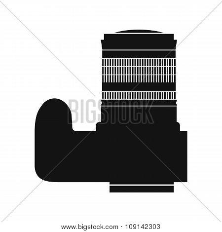 Professional camera black icon