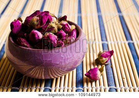 Dried Rose Bud