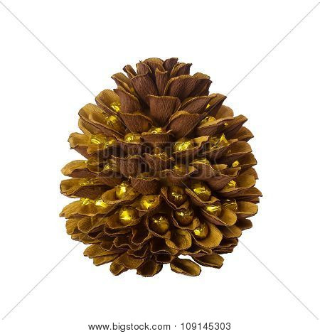 Decorative Pine Cone Made Of Paper