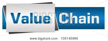 Value Chain Blue Grey Horizontal