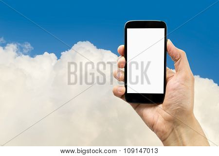 I Am In The Cloud With My Smartphone