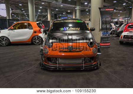 Fiat 500  Tuning On Display