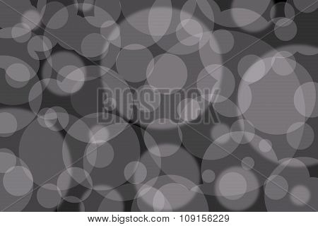 Abstract Background With Grey Circles