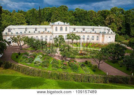 Large Greenhouse In Peterhof Park