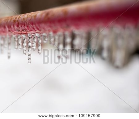 A Line of Icicles