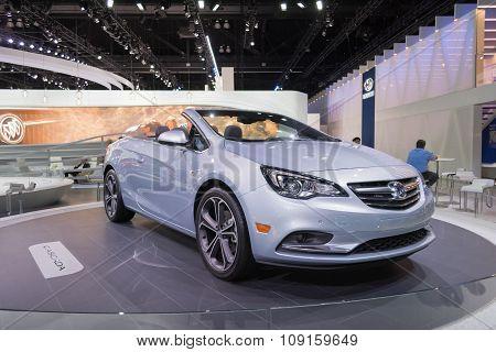 Buick Cascada On Display