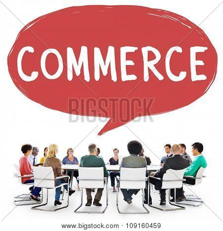 Commerce Consumerism Exchange Retail Concept