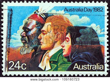 AUSTRALIA - CIRCA 1982: A stamp printed in Australia shows the