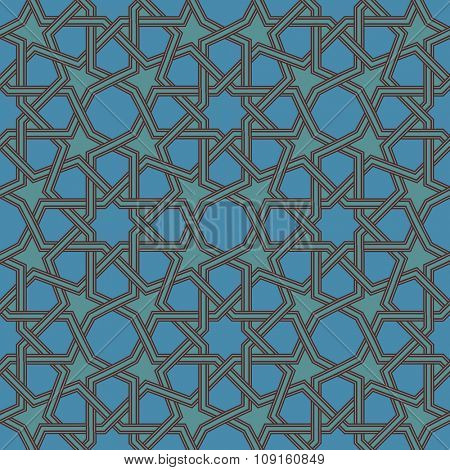 Seamless Arabic pattern.