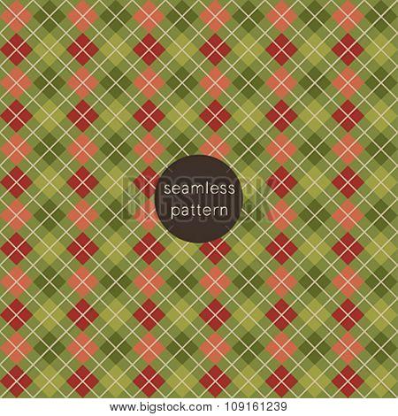 Christmas seamless pattern. Vector illustration.