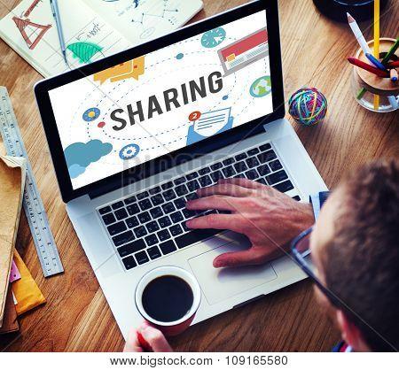Sharing Global Communication Technology Feedback Concept