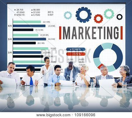 Marketing Advertisement Commercial Branding Concept