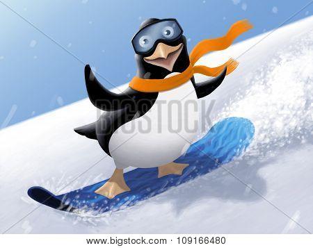 Illustration - Penguin