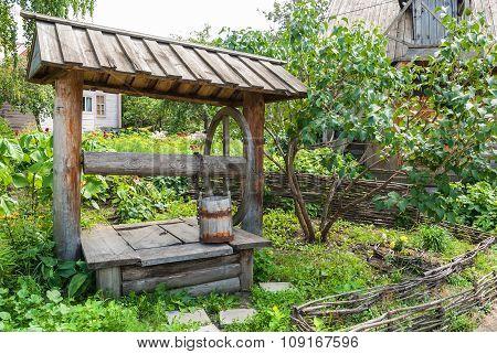 Courtyard village house