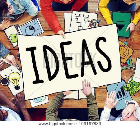Ideas Inspiration Creativity Innovation Concept