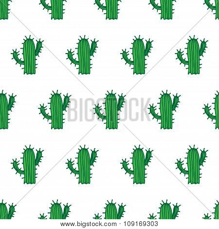 background, cactus pattern