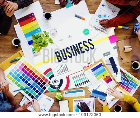 Business Commercial Company Opportunity Strategy Concept