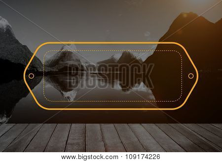 Label Tag Identity Identification Badge Design Concept