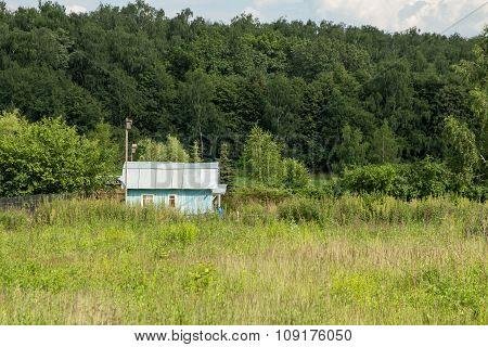 Lonley Blue House