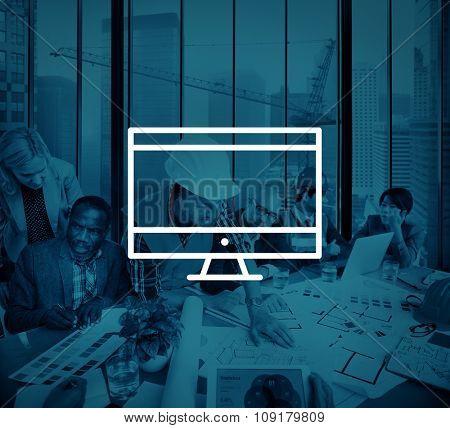 Computer Laptop Technology Digital Device Concept