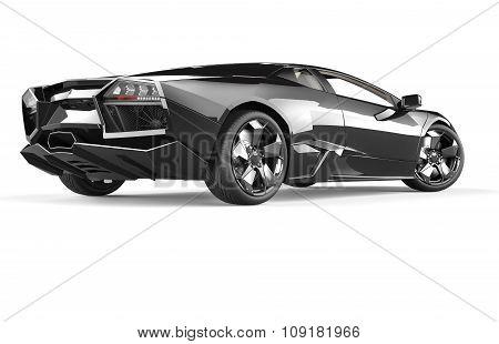 Black Luxury Sport Car