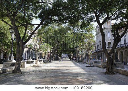 Prado (Paseo de Marti), central Havana, Cuba