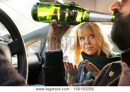 dangerous driving while drinking alcohol
