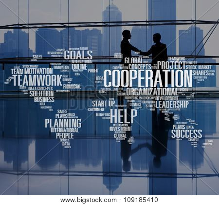 Cooperation Unity Partnership Collaboration Teamwork Concept