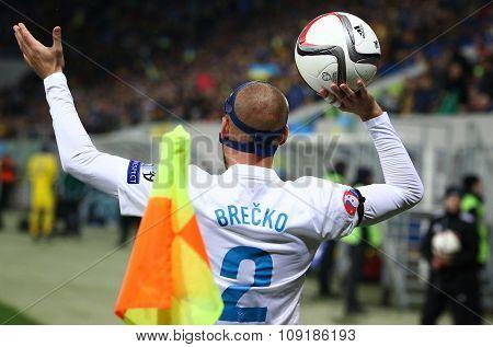 Miso Brecko Of Slovenia