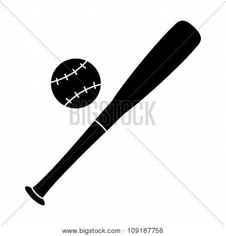 Baseball simple icon